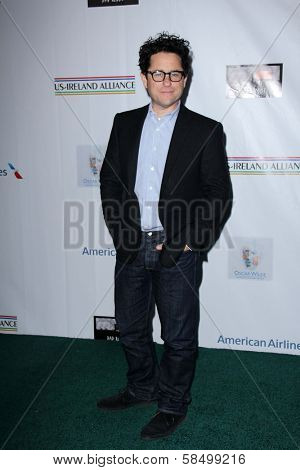 J.J. Abrams at the US-Ireland Alliance Pre-Academy Awards Event, Bad Robot, Santa Monica, CA 02-21-13