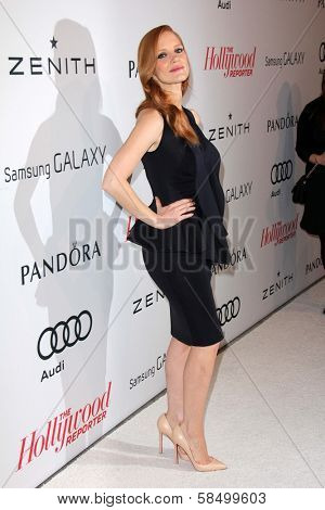 Jessica Chastain at the Hollywood Reporter Celebration for the 85th Academy Awards Nominees, Spago, Beverly Hills, CA 02-04-13