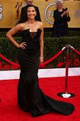 Naya Rivera at the 19th Annual Screen Actors Guild Awards Arrivals, Shrine Auditorium, Los Angeles,
