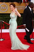 Ellie Kemper at the 19th Annual Screen Actors Guild Awards Arrivals, Shrine Auditorium, Los Angeles,