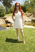 BEVERLY HILLS - AUGUST 06: Phoebe Price at the Fulfillment Fund's Fifth Annual Summer Splash August