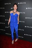 Stephanie March at Delta Airline's Celebration of LA's Music Industry, Getty House, Los Angeles, CA