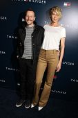 Bodhi Elfman, Jenna Elfman at the Tommy Hilfiger West Coast Flagship Grand Opening Event, Tommy Hilf