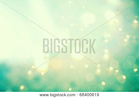 Abstract Teal Light Background