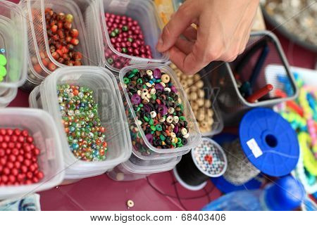 Beads In The Boxes