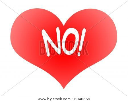 Heart Says No