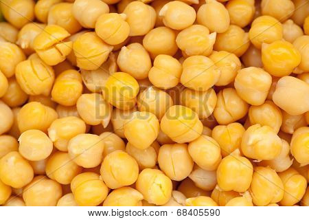 Cooked And Peeled Chickpeas