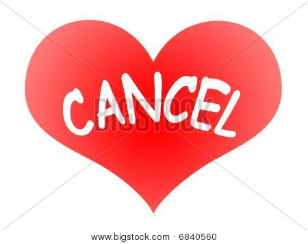 Heart Cancel