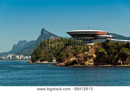 Oscar Niemeyer Niteroi Contemporary Art Museum
