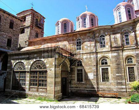 Mount Athos: The Monastery of Konstamonitou