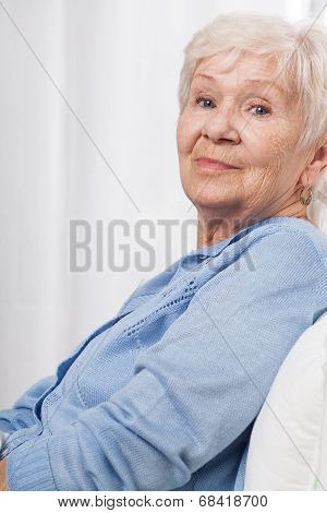 Elderly, Happy Woman