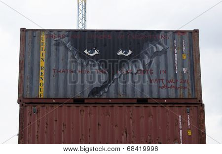 Container graffiti