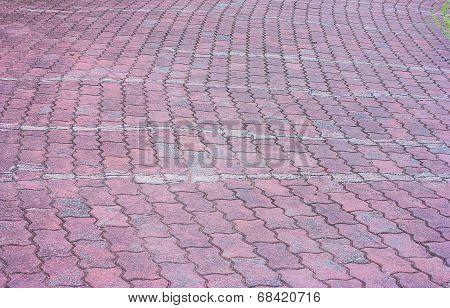 Red Bricks Floor