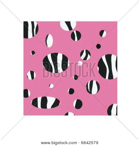 Zebra Print Swatch Pattern