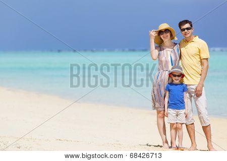 Family At Vacation