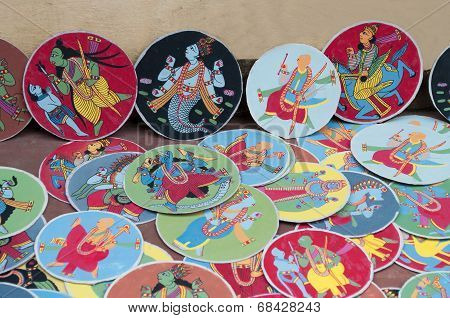 Dashavatara Cards, Artwork, Bishnupur, India