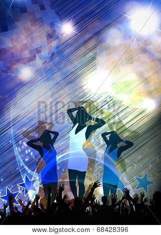 Party Or Concert Background