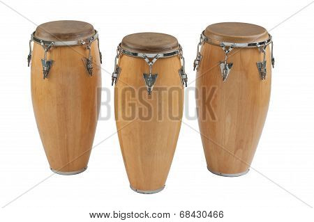 Three of congas