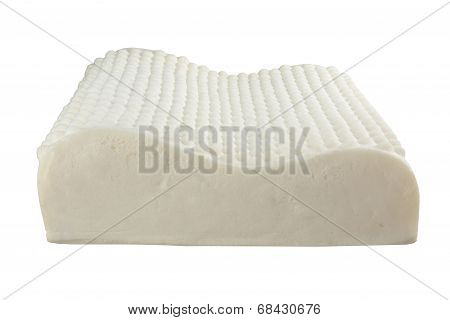 soft latex natural material inside the pillow