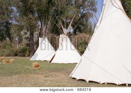 Native American Tipis