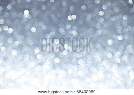 Defocused Ligh Silver Sparkles