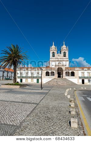 Sanctuary Of Nossa Senhora, Nazare (portugal)
