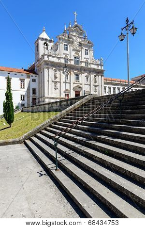 The New Cathedral, Coimbra (portugal)