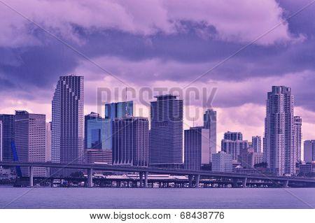 Rain In Miami