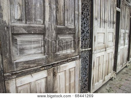Old Wood Door Background