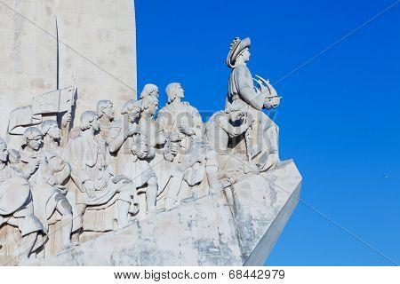 Monumento a los Descubrimientos in Lisbon