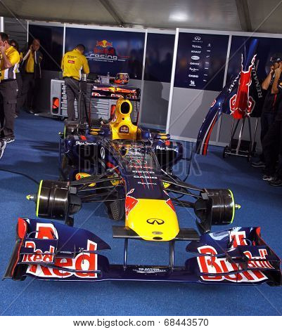 Red Bull Rb7 Racing Car