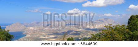 Sicily panorama, Italy
