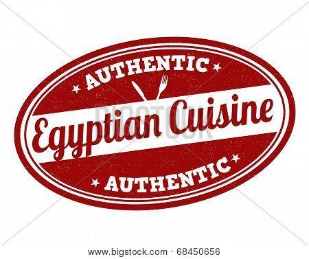 Egyptian Cuisine Stamp