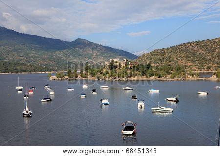 Burguillo Reservoir. Iruelas Valley, Spain