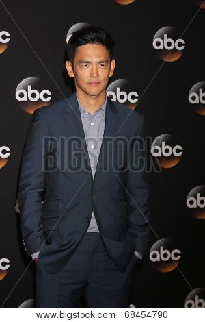 LOS ANGELES - JUL 15:  John Cho at the ABC July 2014 TCA at Beverly Hilton on July 15, 2014 in Beverly Hills, CA
