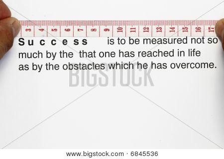 Mesure Your Success