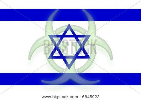 Flag Of Israel Health Warning