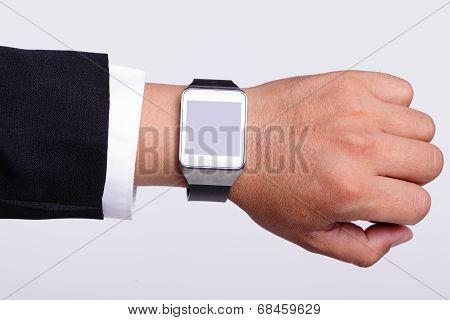 Hand Serving Smart Watch