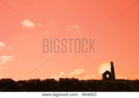 Cornish Tin Mine Ruin
