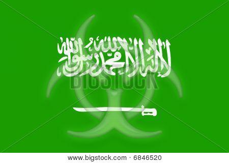 Flag Of Saudi Arabia Health Warning