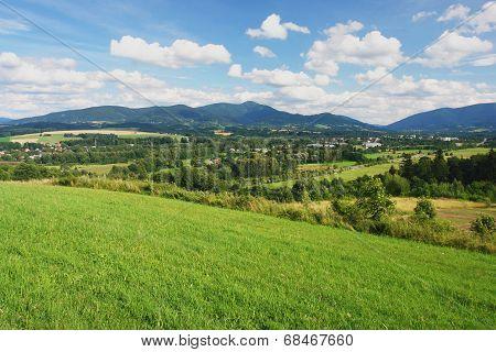 Beskydy, Czech mountains