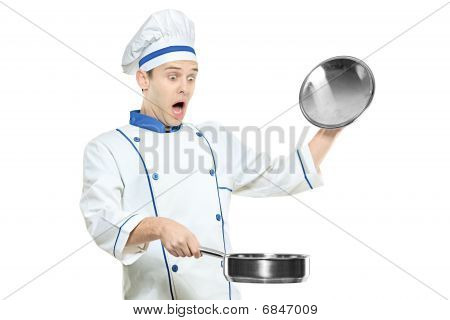 Surprised Chef
