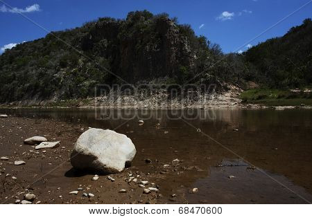Low Water at Colorado Bend
