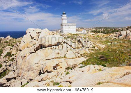 Lighthouse in Sardinia