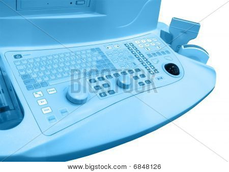 New Medical Keyboard, Healthcare, Isolated
