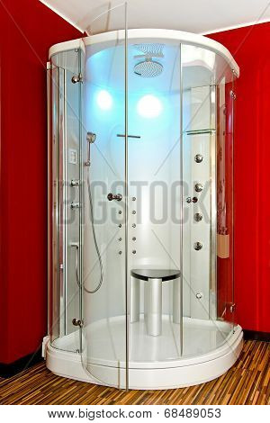 Modern Shower Cabin