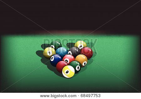 pyramid billiard balls