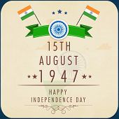 pic of indian independence day  - Poster - JPG