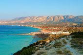 stock photo of libya  - Natural landscape the coast of Libya in North Africa - JPG