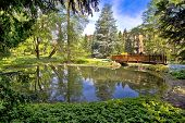 pic of oasis  - Zagreb botanical garden city oasis  - JPG